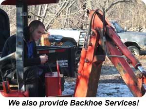 Backhoe Services for South Jersey