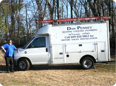 Dan Penney Plumbing - South Jersey Plumbing, Heating, A/C, HVAC