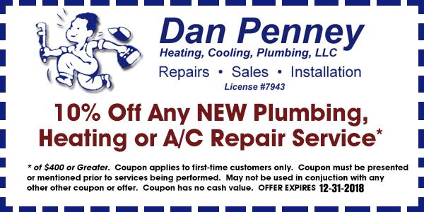 South Jersey Plumbing & HVAC Service Coupon
